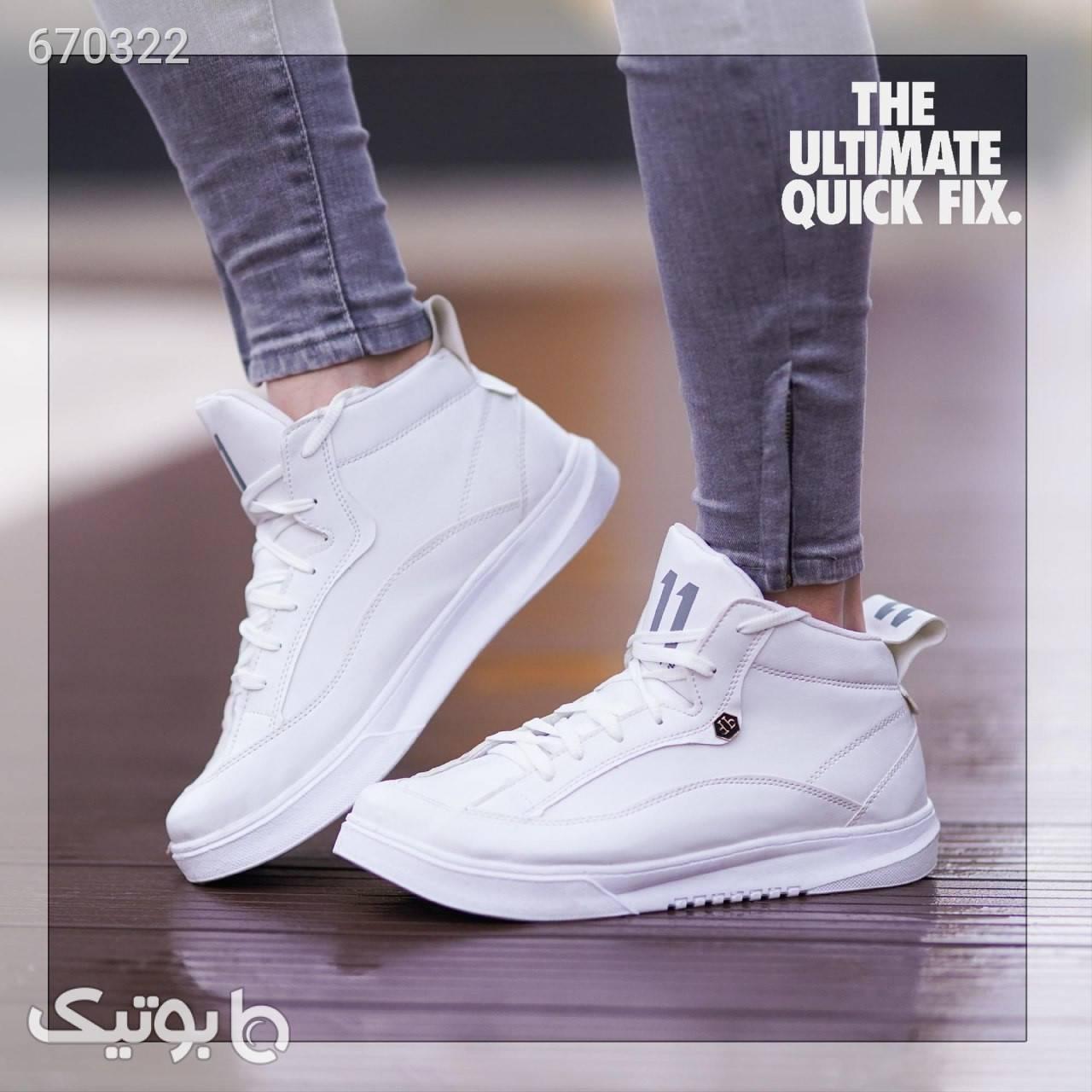 کفش مردانه  سفید كفش مردانه