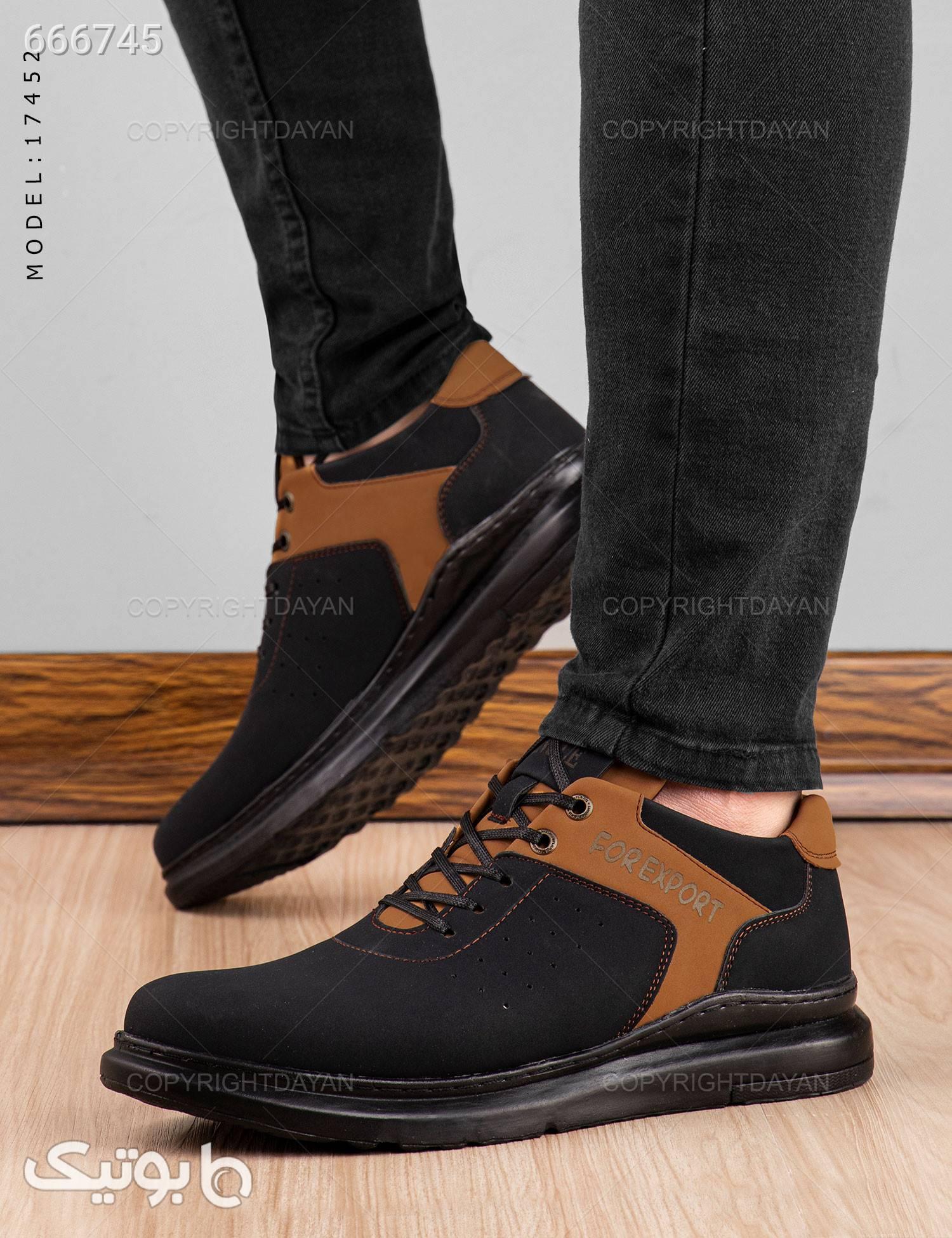 کفش مردانه Araz مدل 17452 مشکی كفش مردانه