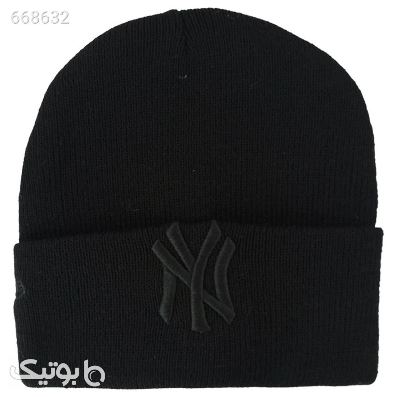 کلاه بافتنی کد M463 مشکی کلاه بافت و شال گردن و دستکش