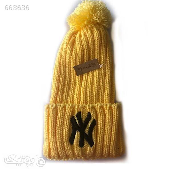 کلاه بافتنی کد N300 قرمز کلاه بافت و شال گردن و دستکش