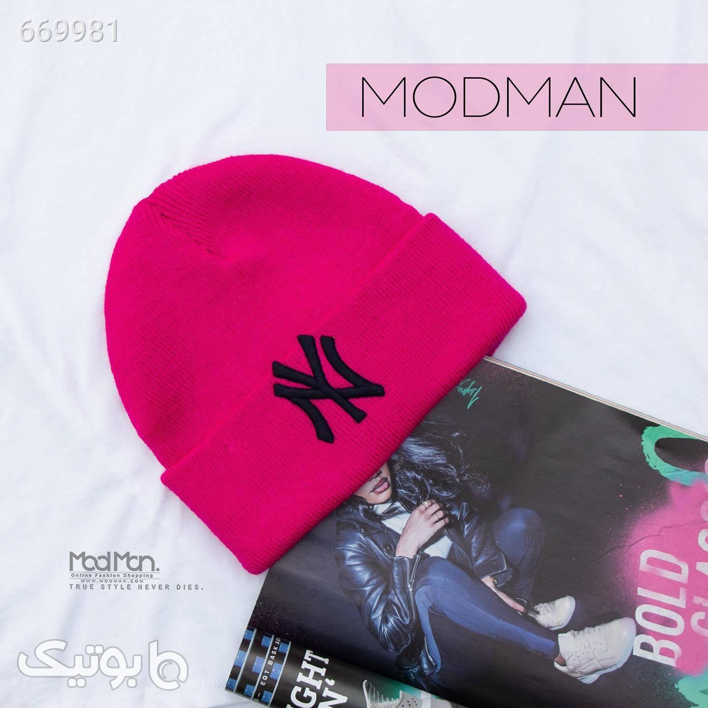 کلاه بافت زمستانی صورتی کلاه بافت و شال گردن و دستکش