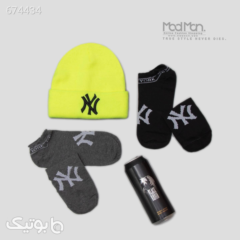 کلاه بافت زمستانی مشکی کلاه بافت و شال گردن و دستکش