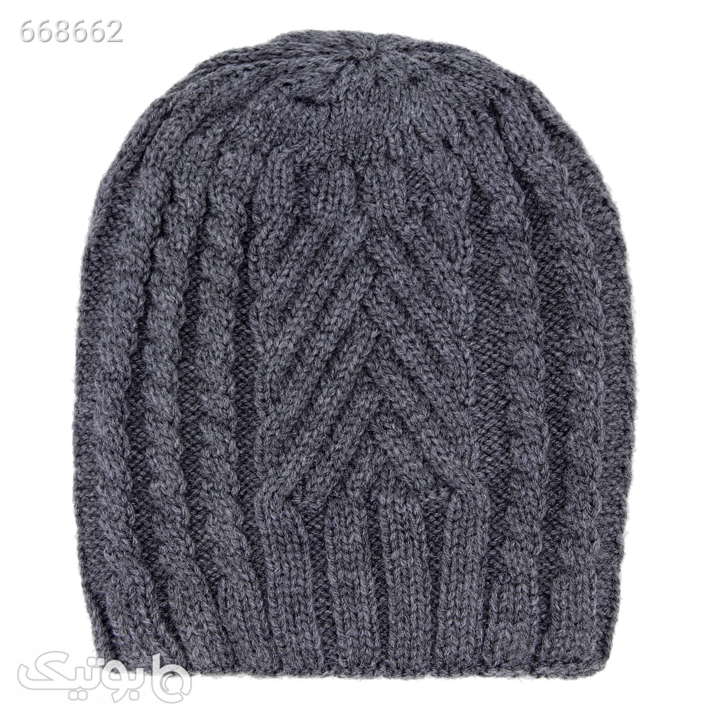 کلاه مدل M2320 آبی کلاه بافت و شال گردن و دستکش