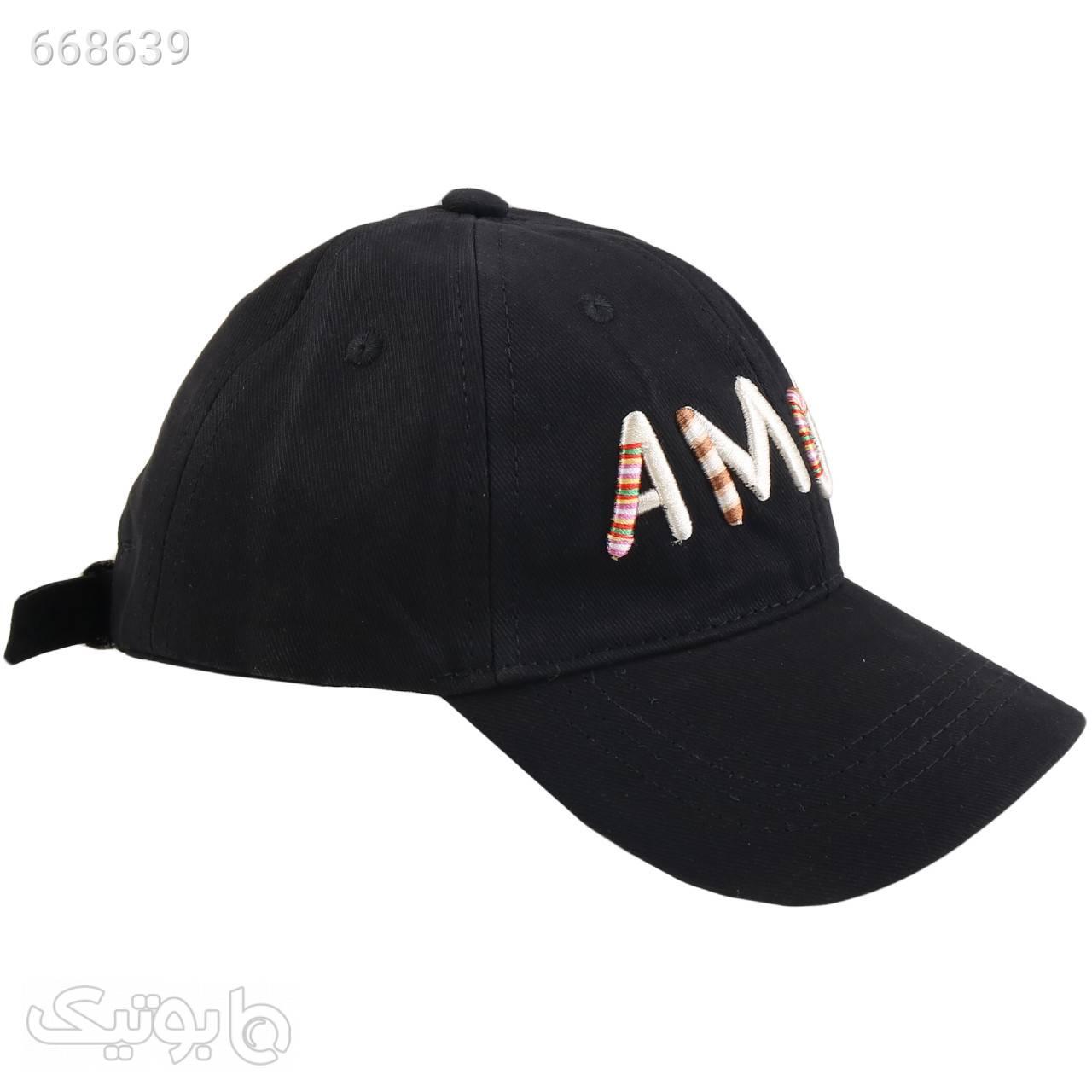 کلاه کپ آمور مدل PJ2765 مشکی کلاه و اسکارف