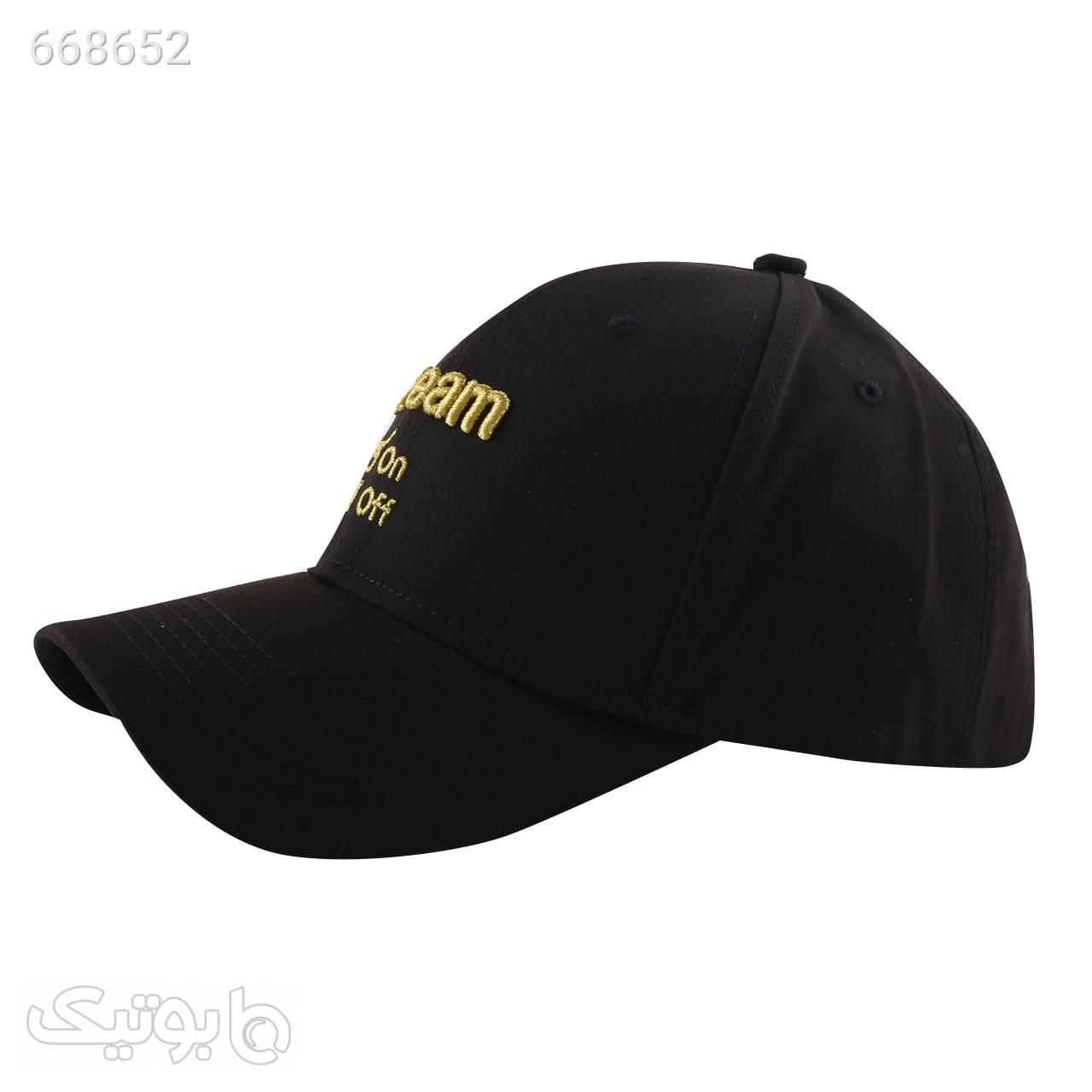 کلاه کپ مردانه مدل PJ139 مشکی کلاه و اسکارف