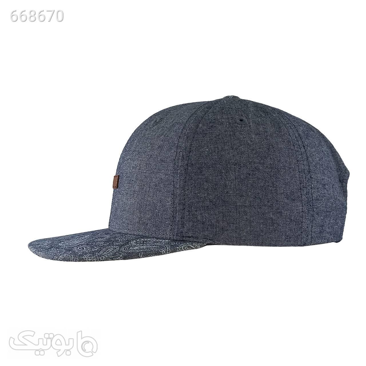 کلاه کپ موویتو کد MN380 سورمه ای کلاه و اسکارف