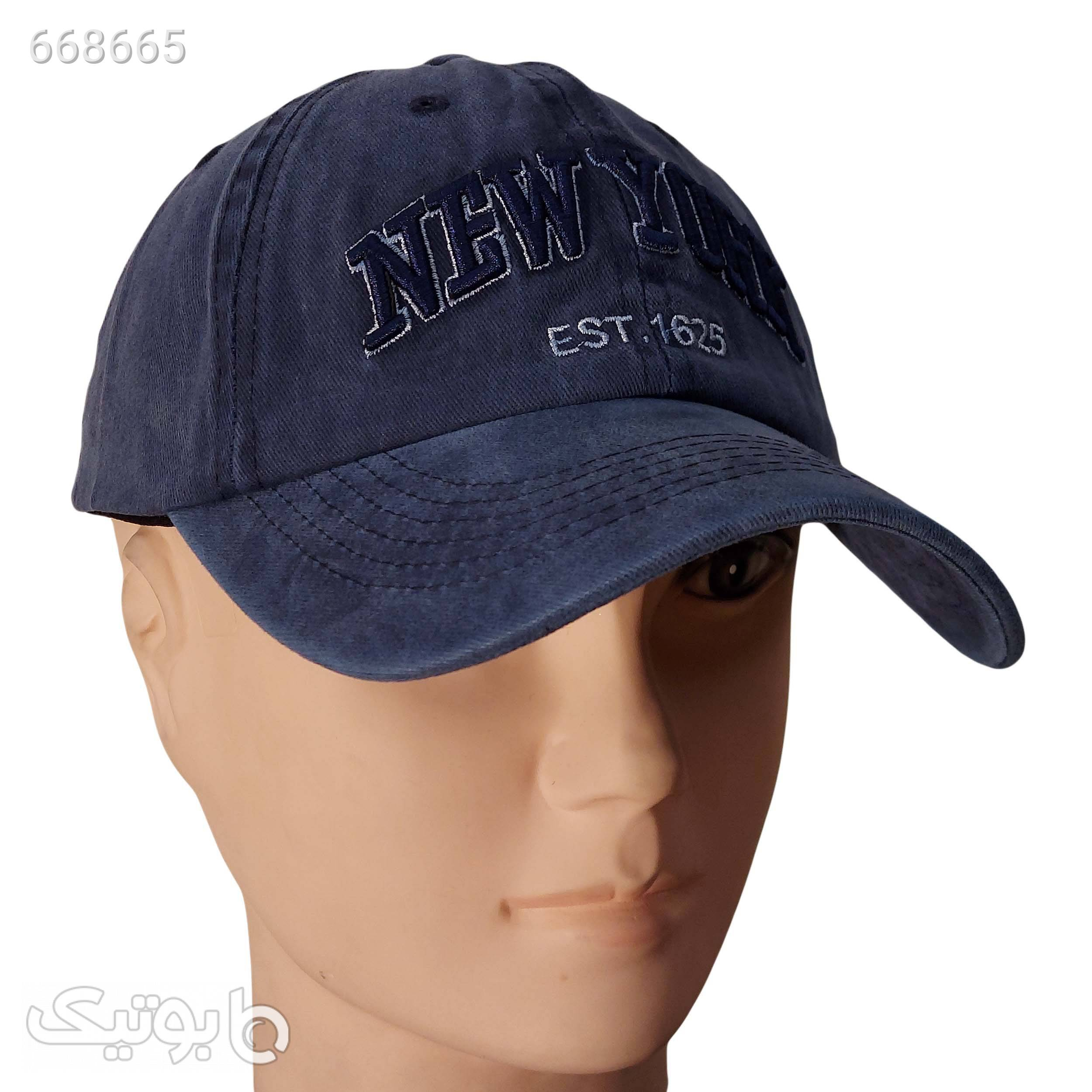 کلاه کپ کد H48 مشکی کلاه و اسکارف