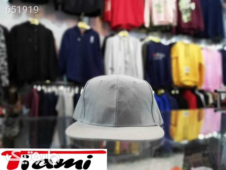 کلاه کپ نقره ای کلاه و اسکارف