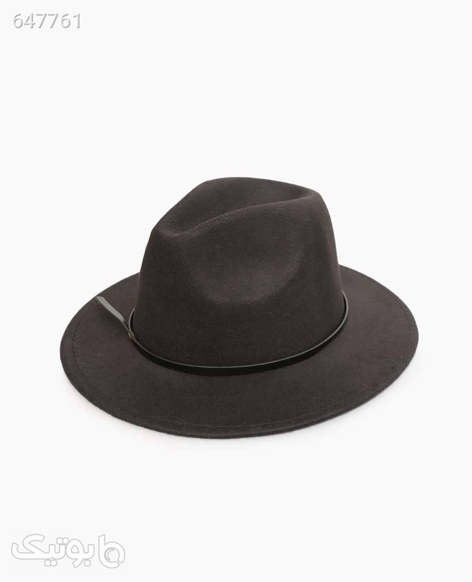 کلاه FEDORA مدل 6851Black مشکی کلاه و اسکارف