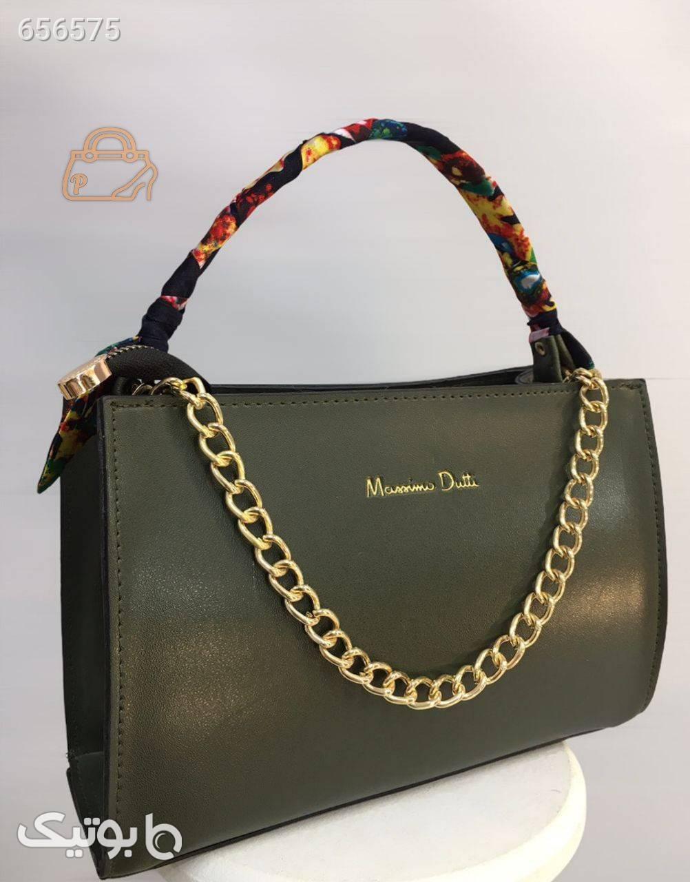 کیف دستی زنانه سبز كيف زنانه