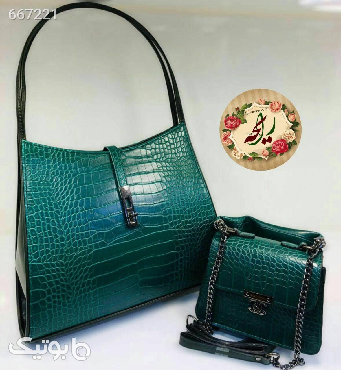 کیف زنانه آبی كيف زنانه