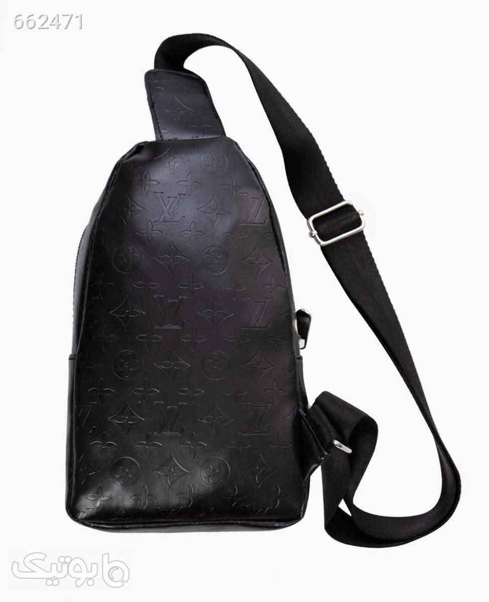 کیف کمری چرم Louis Vuitton کد 9393Black مشکی كيف زنانه