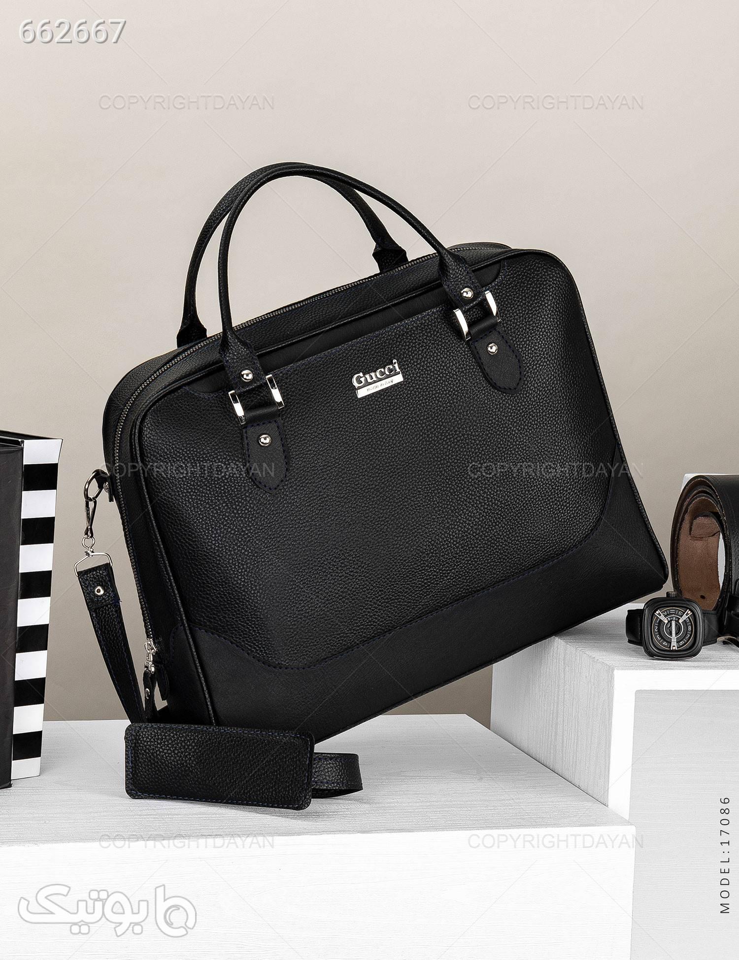 کیف اداری مدل K7086 مشکی كيف مردانه