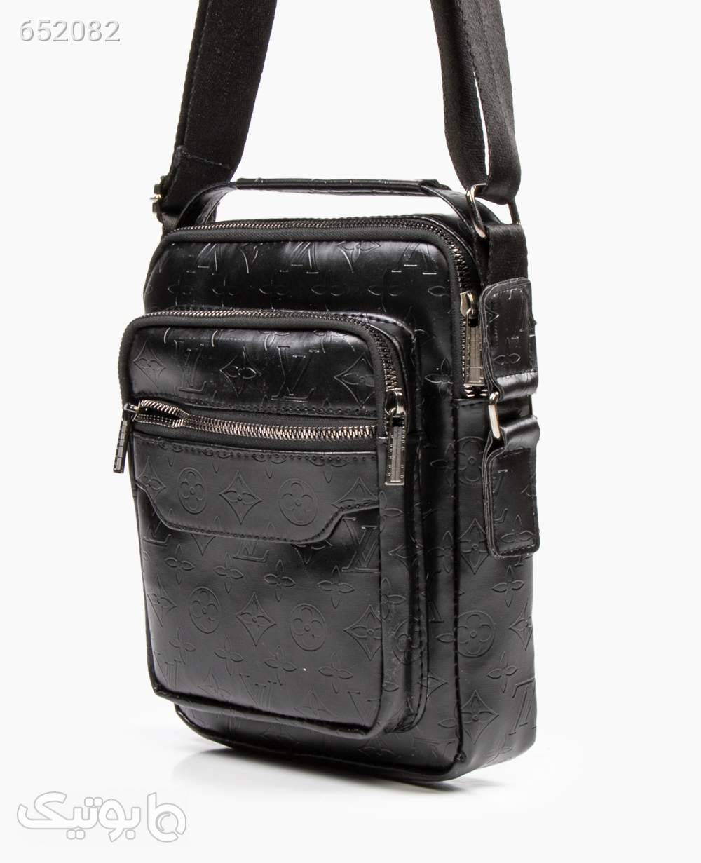 کیف دوشی Louis Vuitton کد 4460Black مشکی كيف مردانه
