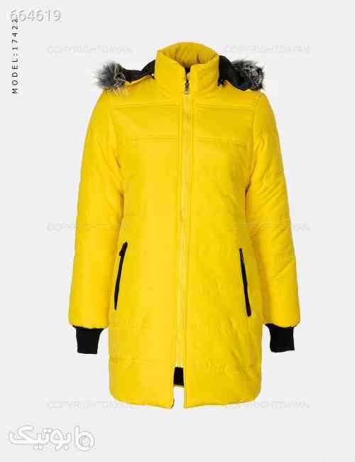 کاپشن زنانه Marta مدل 17422 زرد 99 2020