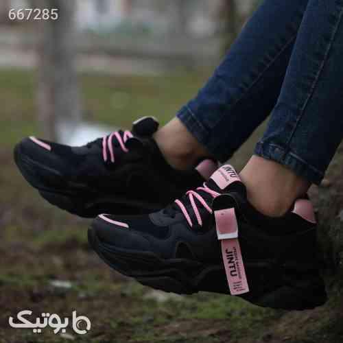 کفش کتونی دخترانه مشکی 99 2020
