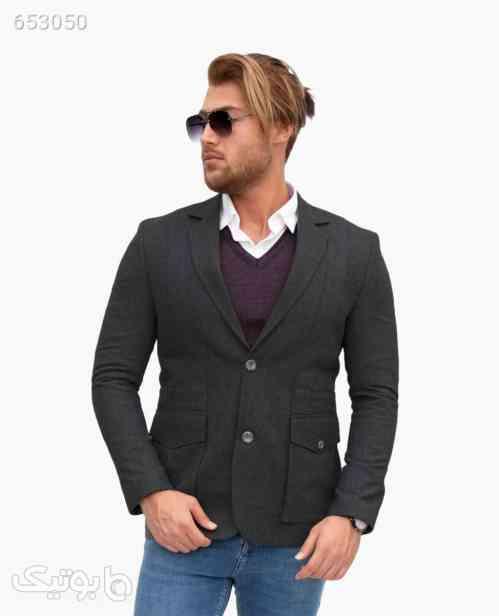 کت تک مردانه Simpatiya Tirelli کد 0520Dark Gray52 99 2020