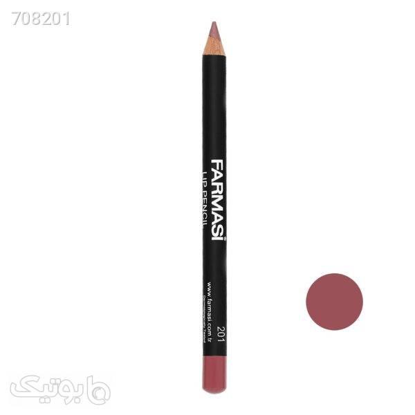 مداد لب فارماسی شماره 201 مشکی آرایش لب