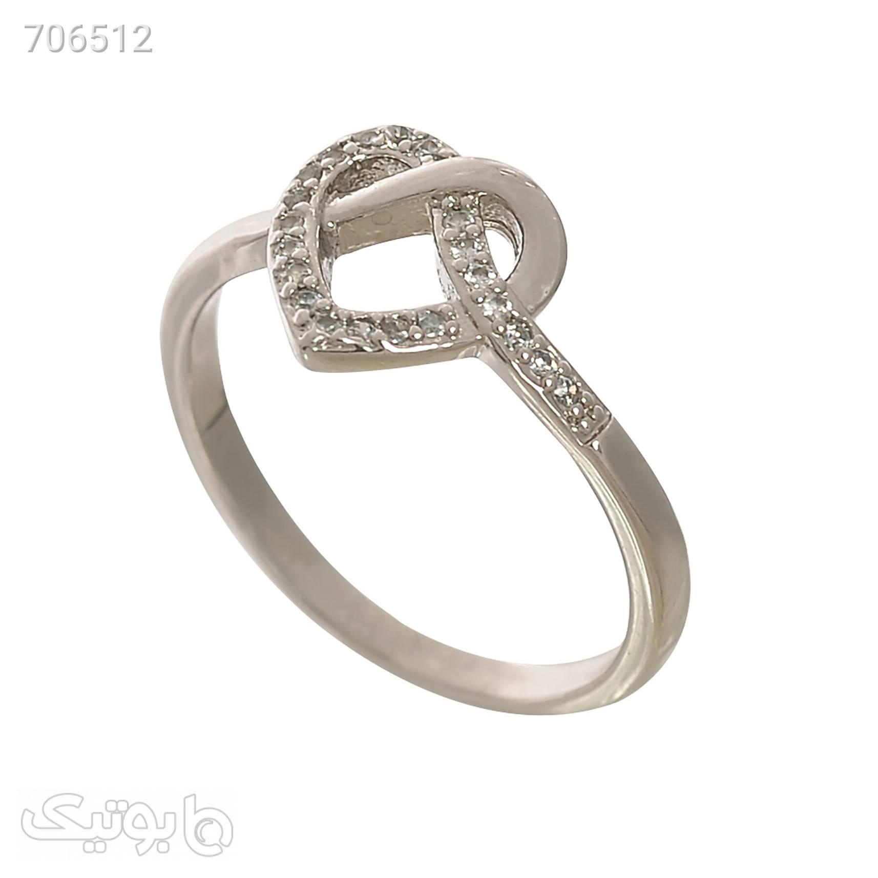 انگشتر زنانه کد AN1360 نقره ای انگشتر