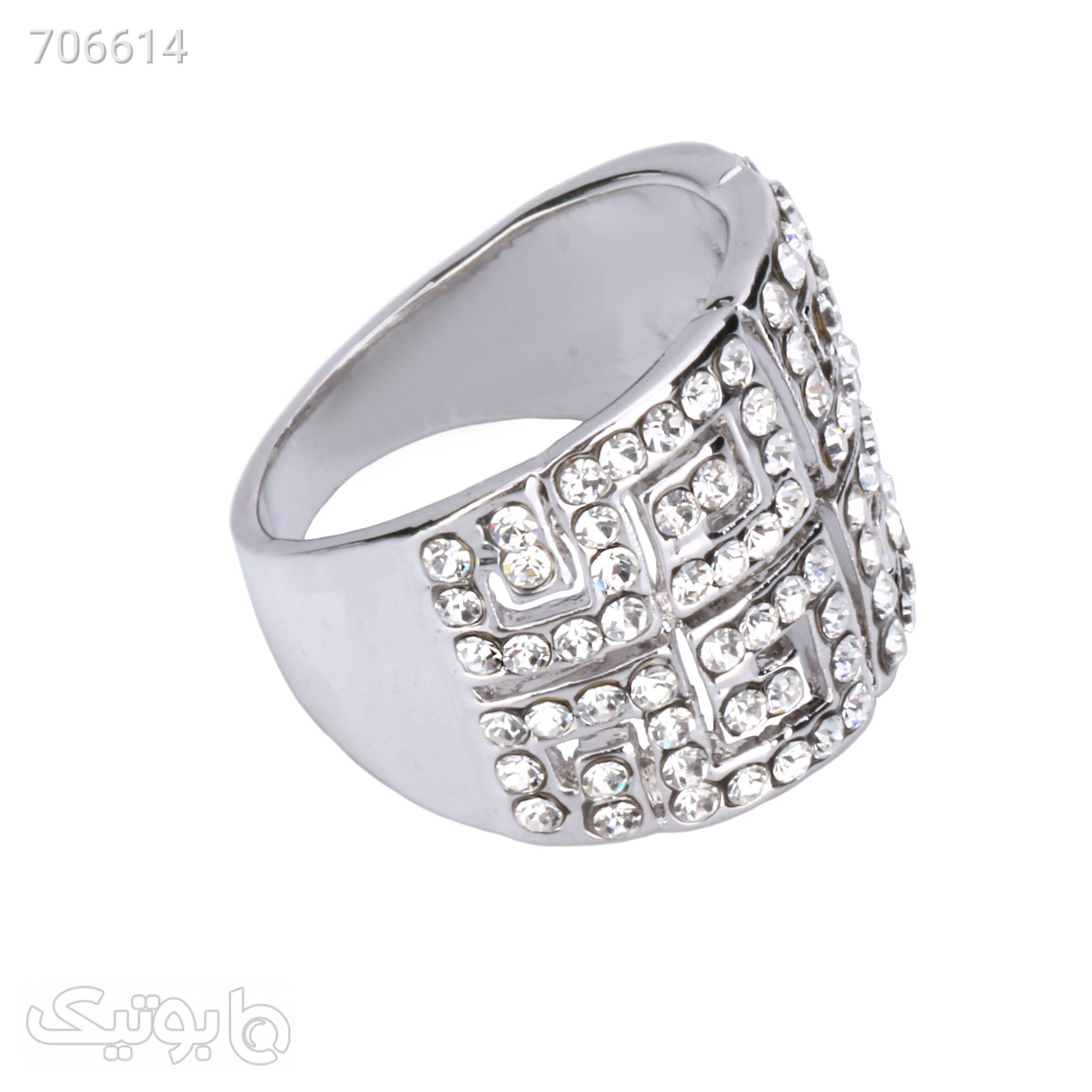 انگشتر زنانه گالری شمرون کد 247S7 نقره ای انگشتر