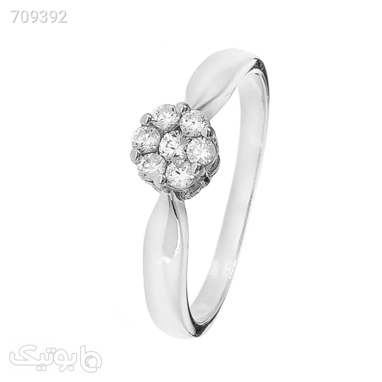 انگشتر نقره زنانه مون لایت کد R2156 نقره ای انگشتر