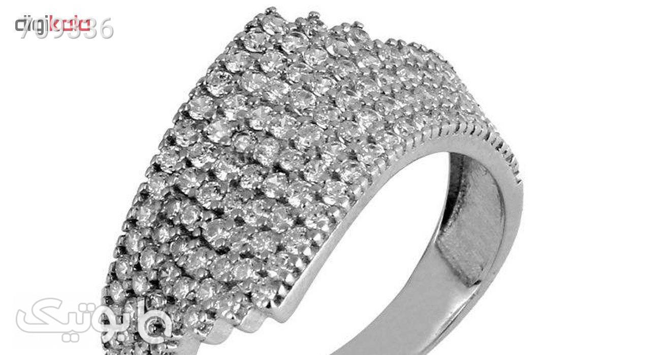 انگشتر نقره زنانه کد 78950 نقره ای انگشتر