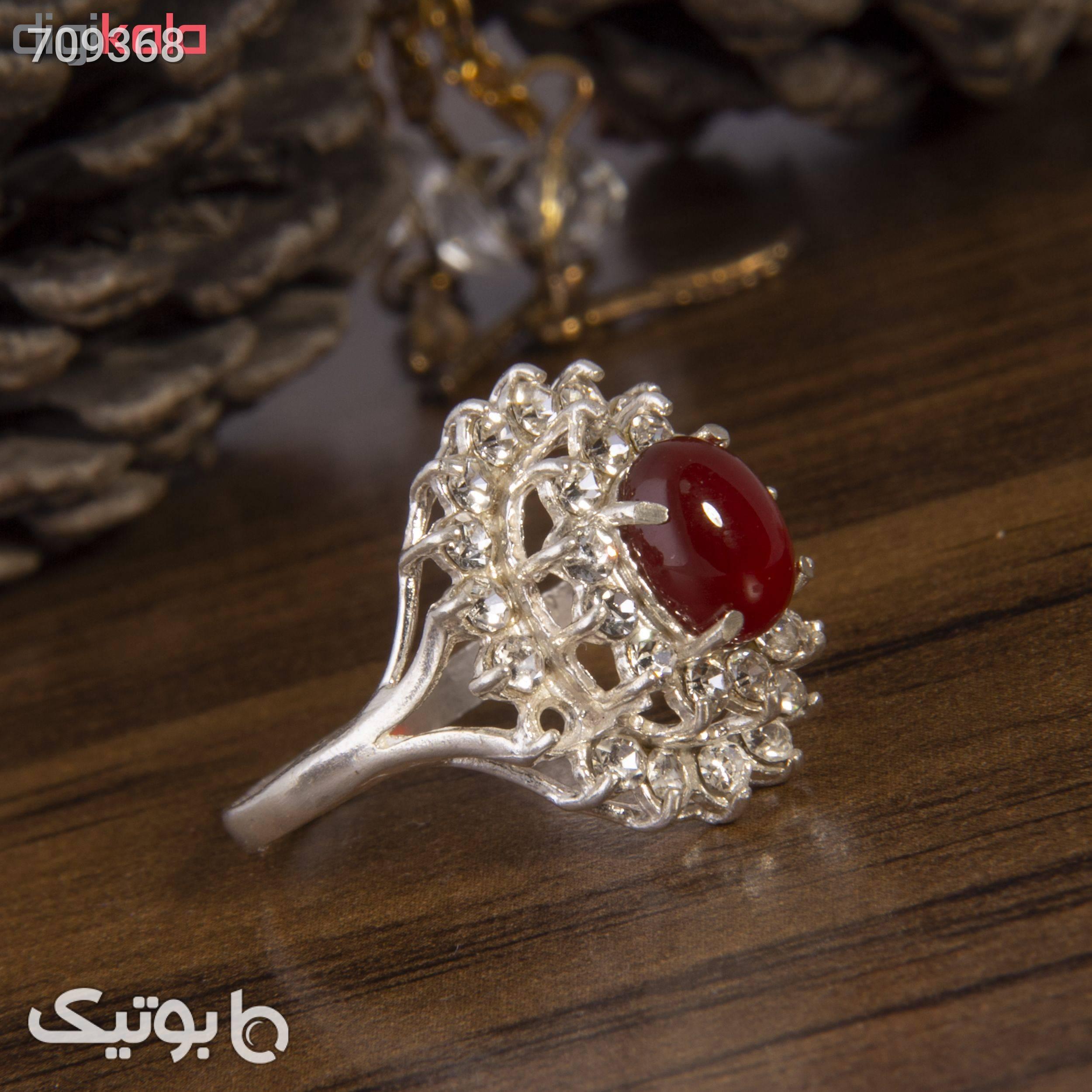 انگشتر نقره زنانه کد AW051 نقره ای انگشتر