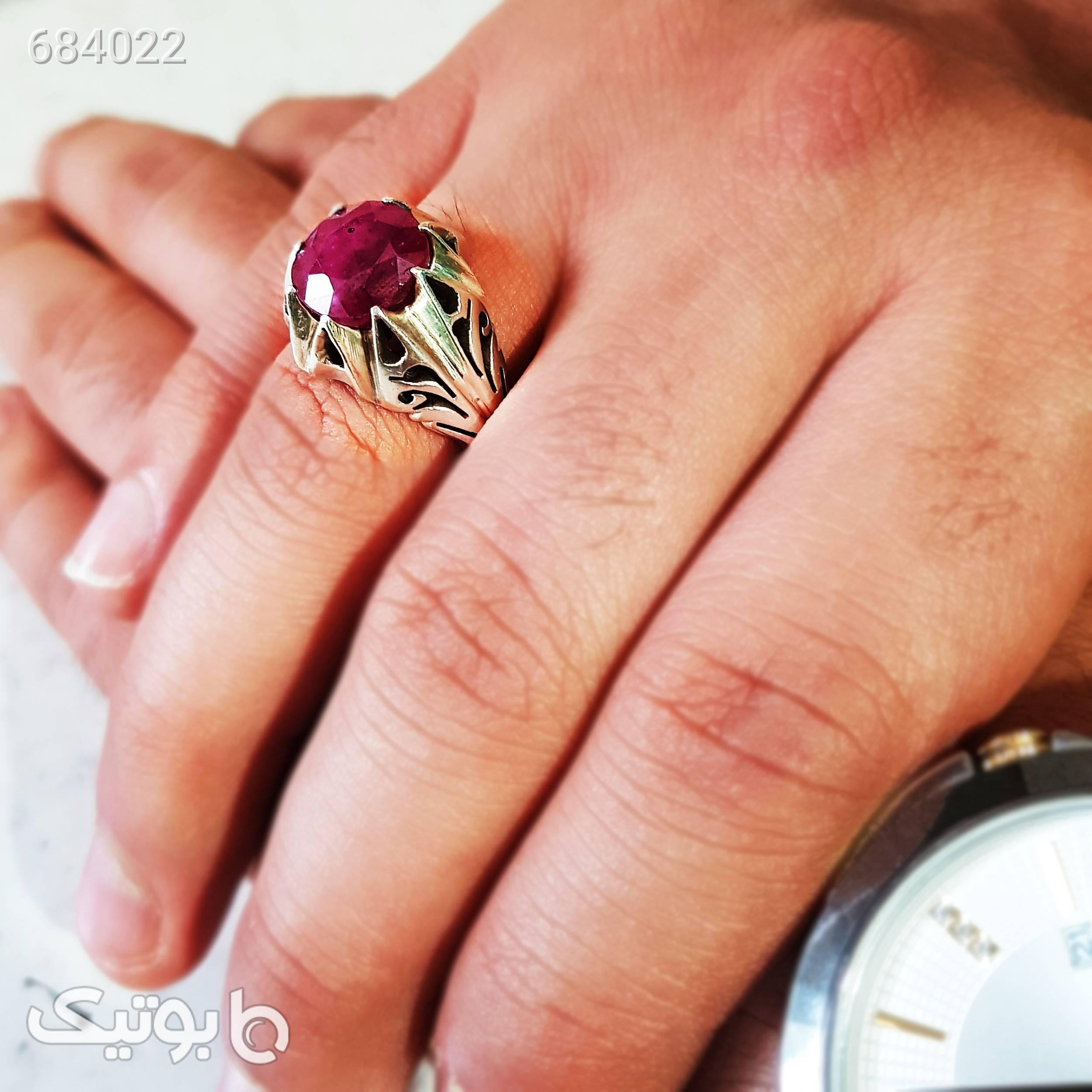 انگشتر نقره مردانه سلین کالا مدل cer012 نقره ای انگشتر