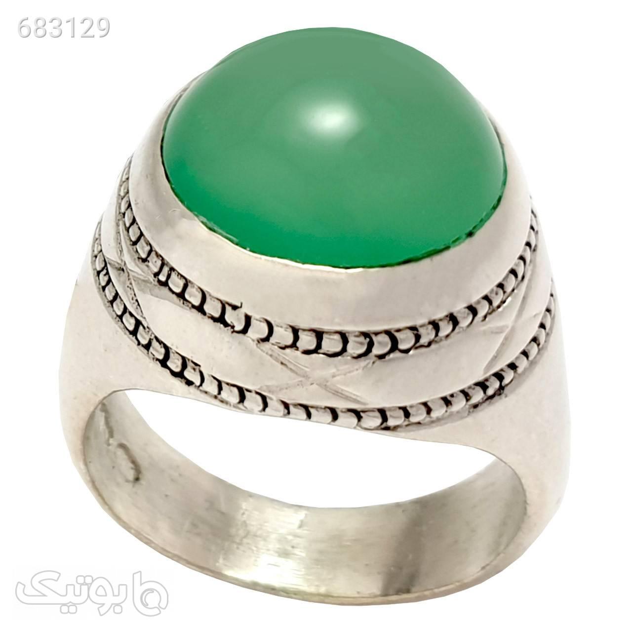 انگشتر نقره مردانه مدل a090jw نقره ای انگشتر