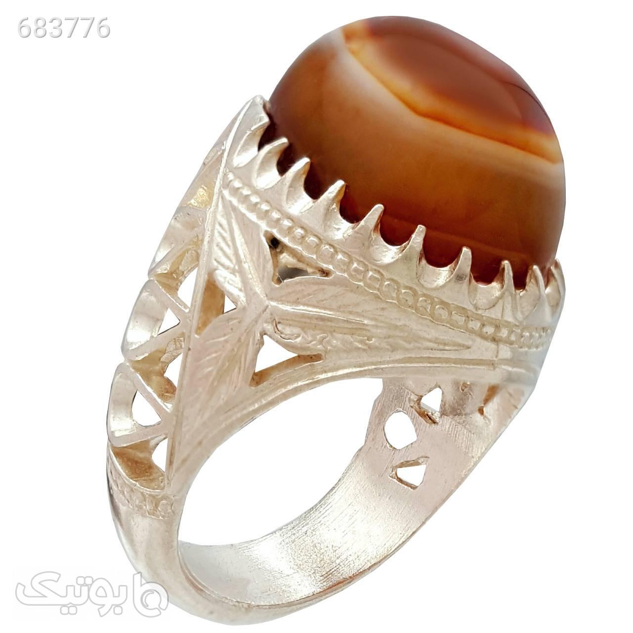 انگشتر نقره مردانه مدل a112jw نقره ای انگشتر
