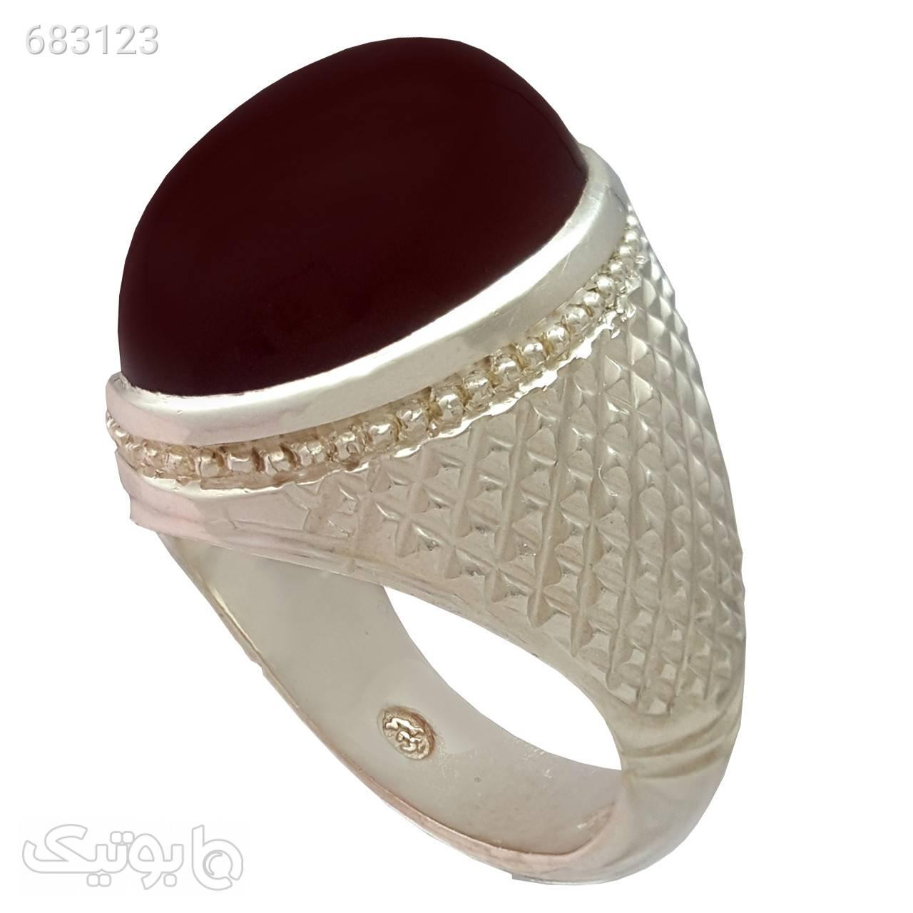 انگشتر نقره مردانه مدل a480jw نقره ای انگشتر