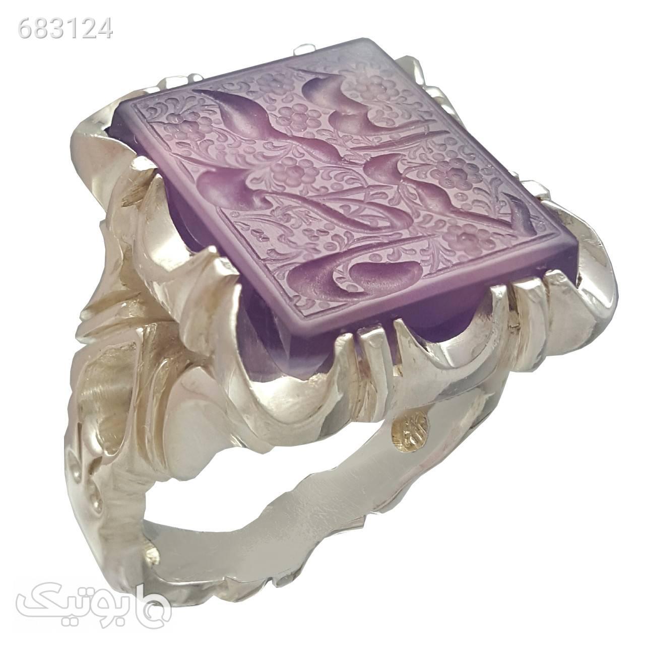انگشتر نقره مردانه مدل a494jw نقره ای انگشتر