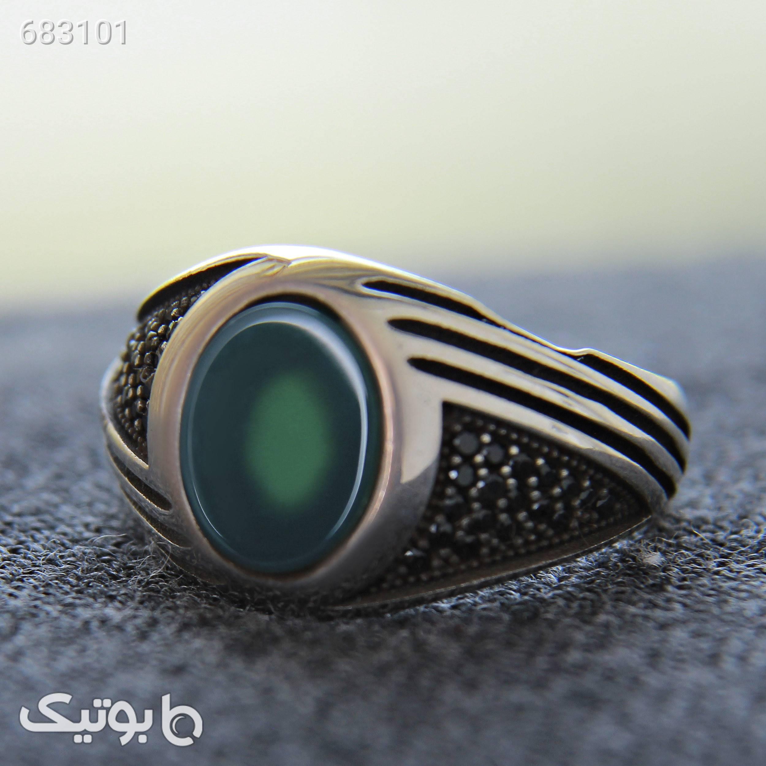 انگشتر نقره مردانه بازرگانیمیلادی کد AM_252 نقره ای انگشتر