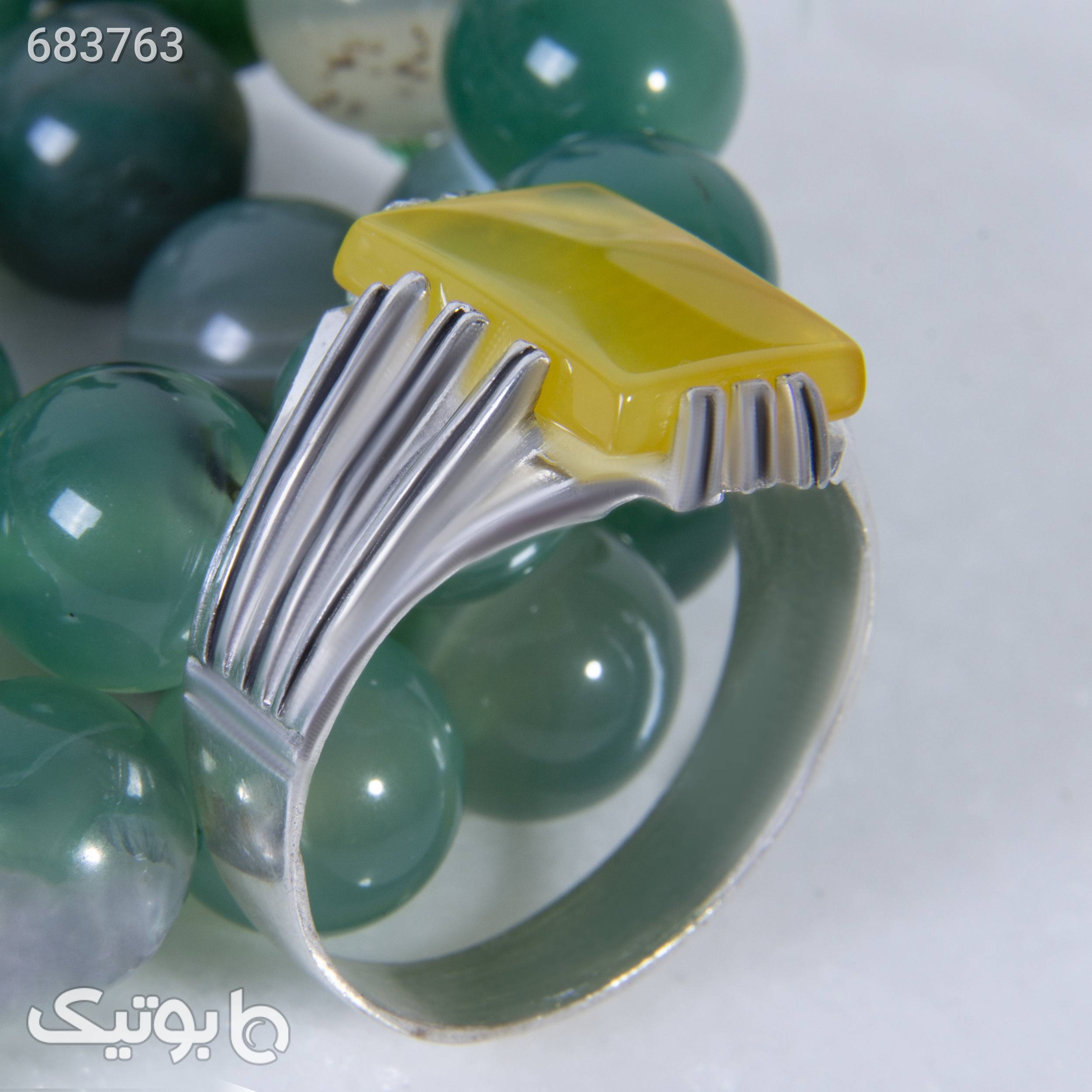 انگشتر نقره مردانه بازرگانی میلادی کدAM_054 نقره ای انگشتر