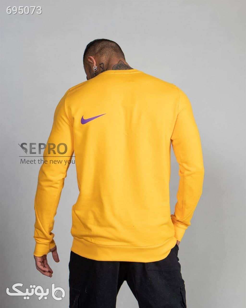 بلوز آستین بلند NIKE ACG  زرد تی شرت و پولو شرت مردانه