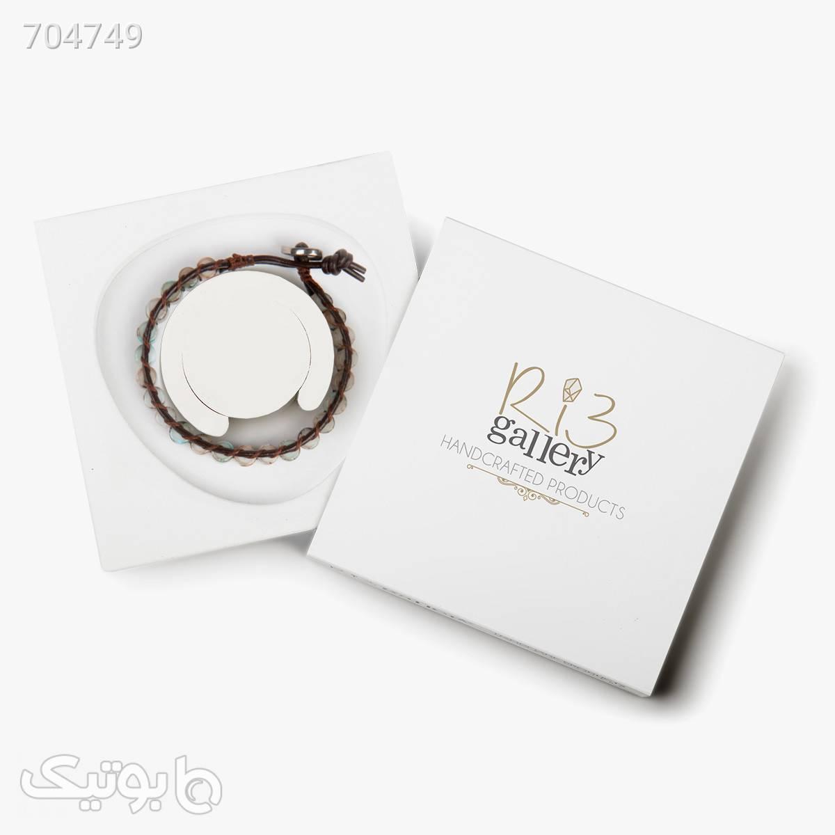 دستبند زنانه ریسه گالری کد J1262 نقره ای دستبند و پابند