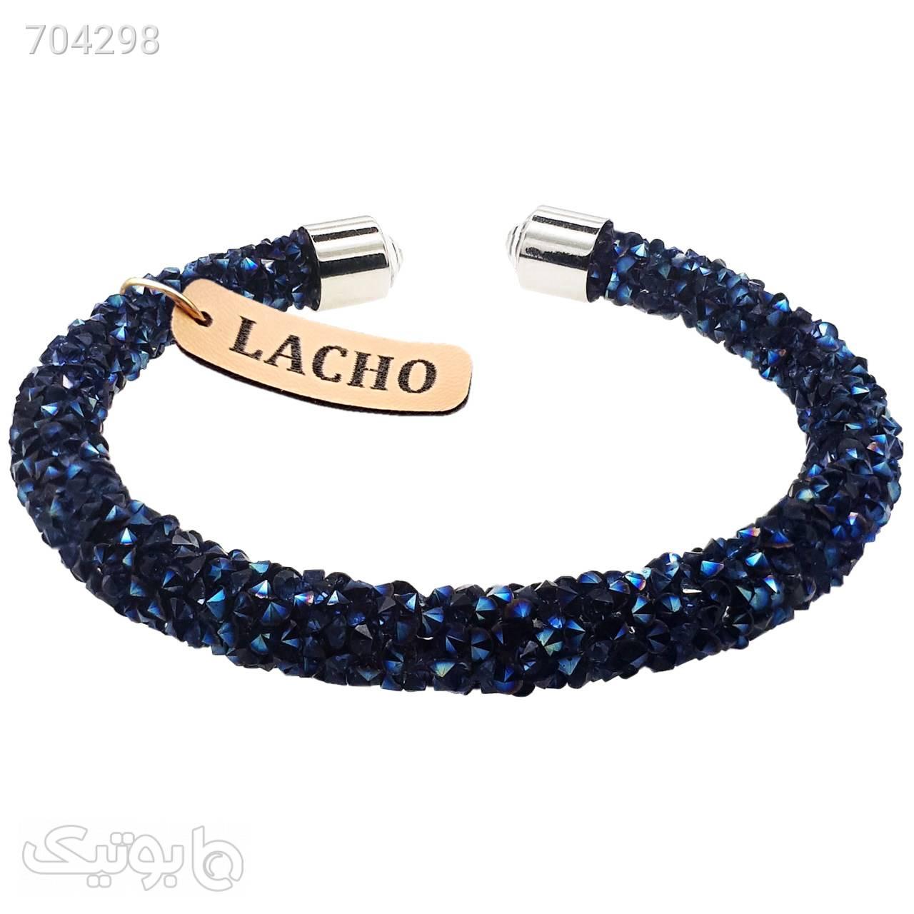 دستبند زنانه لاچو کد SOV007 مشکی دستبند و پابند