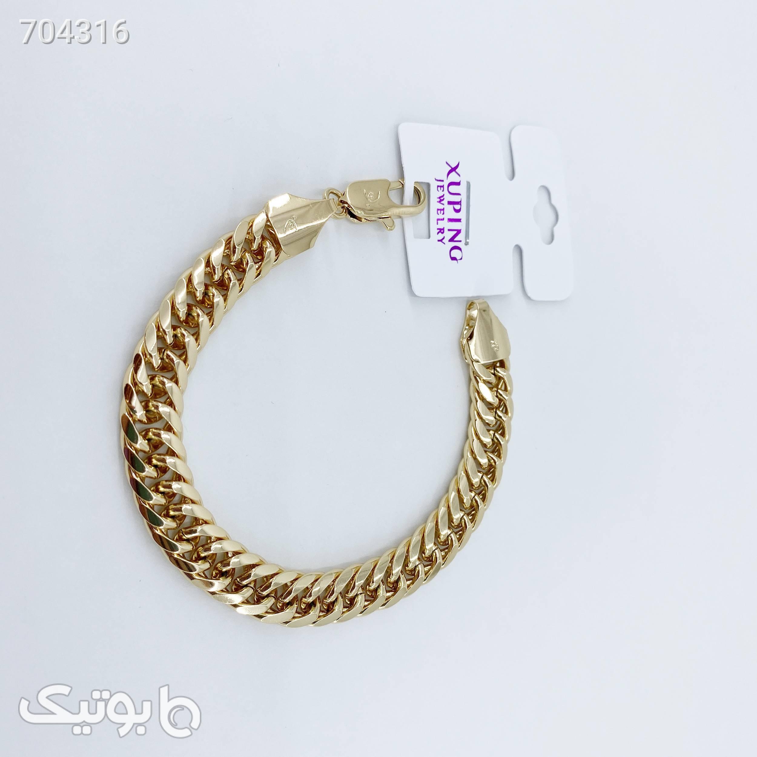 دستبند زنانه ژوپینگ کد B3021 طلایی دستبند و پابند