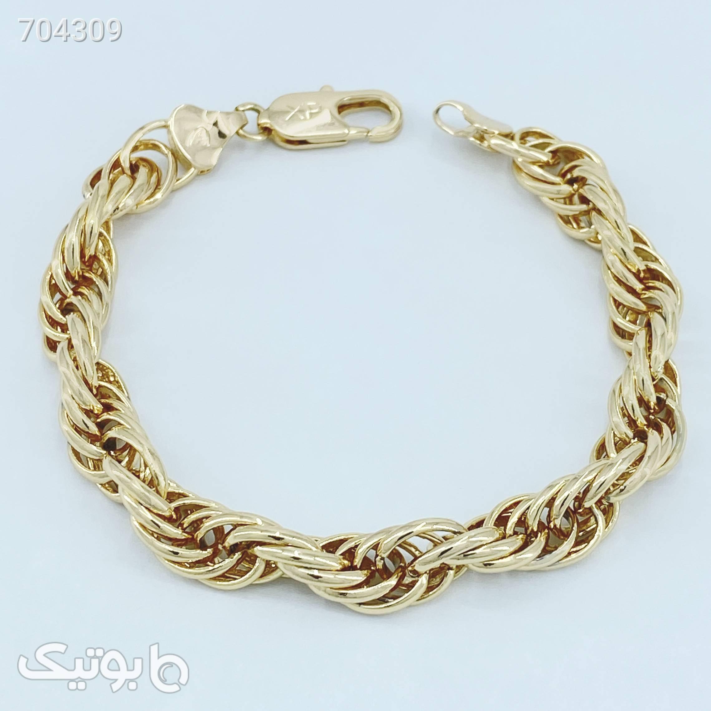 دستبند زنانه ژوپینگ کد B3034 طلایی دستبند و پابند