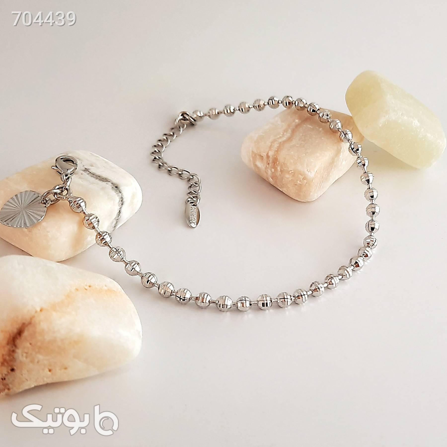 دستبند زنانه ژوپینگ کد XP269 نقره ای دستبند و پابند