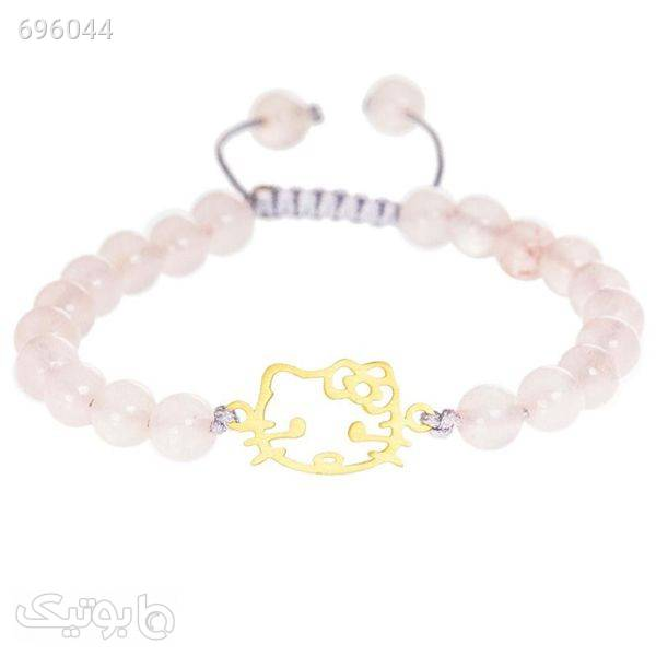 دستبند طلا 18 عیارزربان لیزر کد DT161 سفید دستبند و پابند