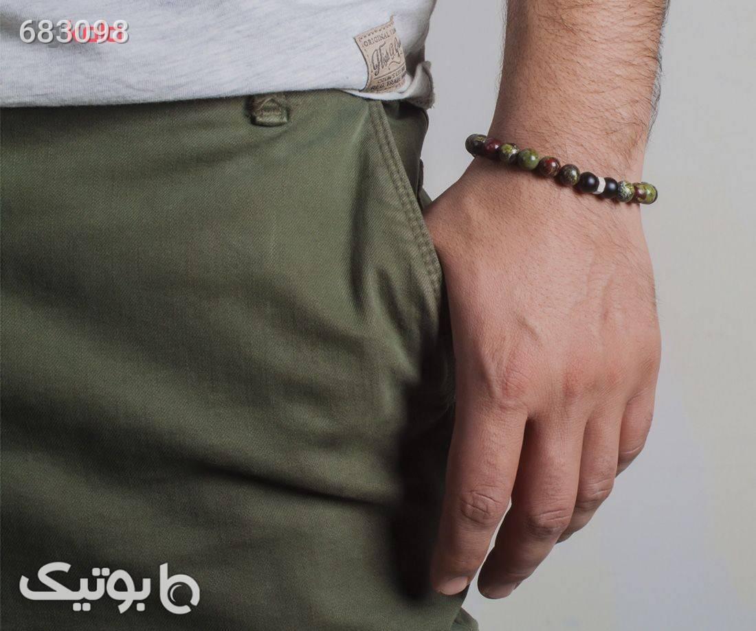 دستبند نقره مردانه ریسه گالری مدل Ri3D1122Silver نقره ای دستبند و پابند