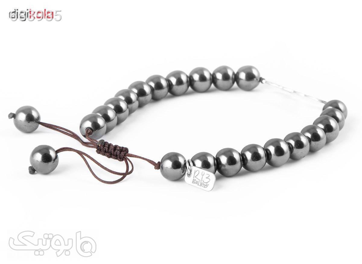 دستبند نقره مردانه ریسه گالری مدل Ri3H1152Silver نقره ای دستبند و پابند