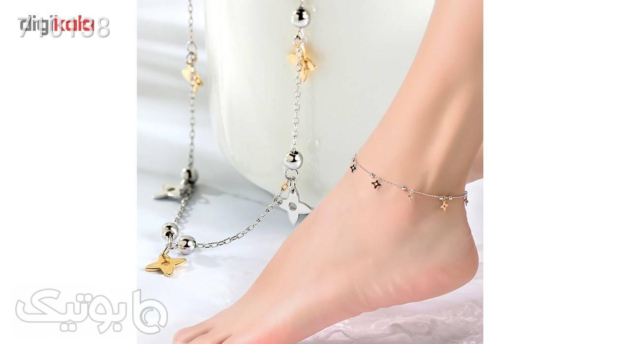 پابند نقره شهر جواهر مدل SJAN006 دستبند و پابند