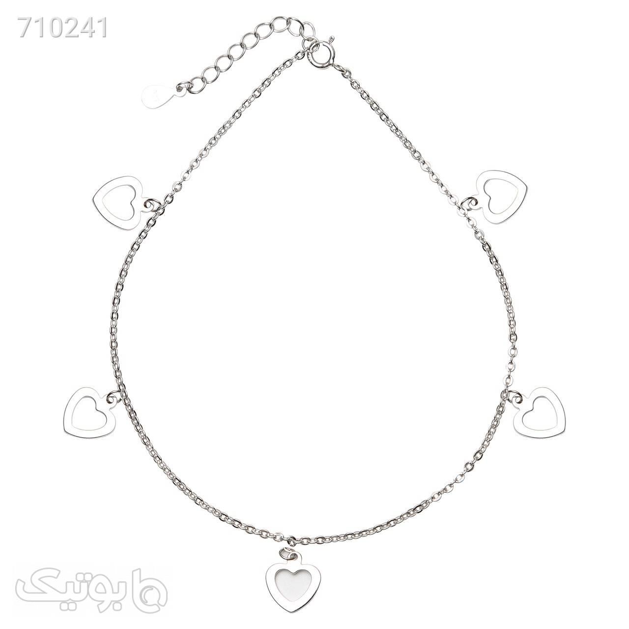پابند نقره شهر جواهر مدل SJSAN017 دستبند و پابند
