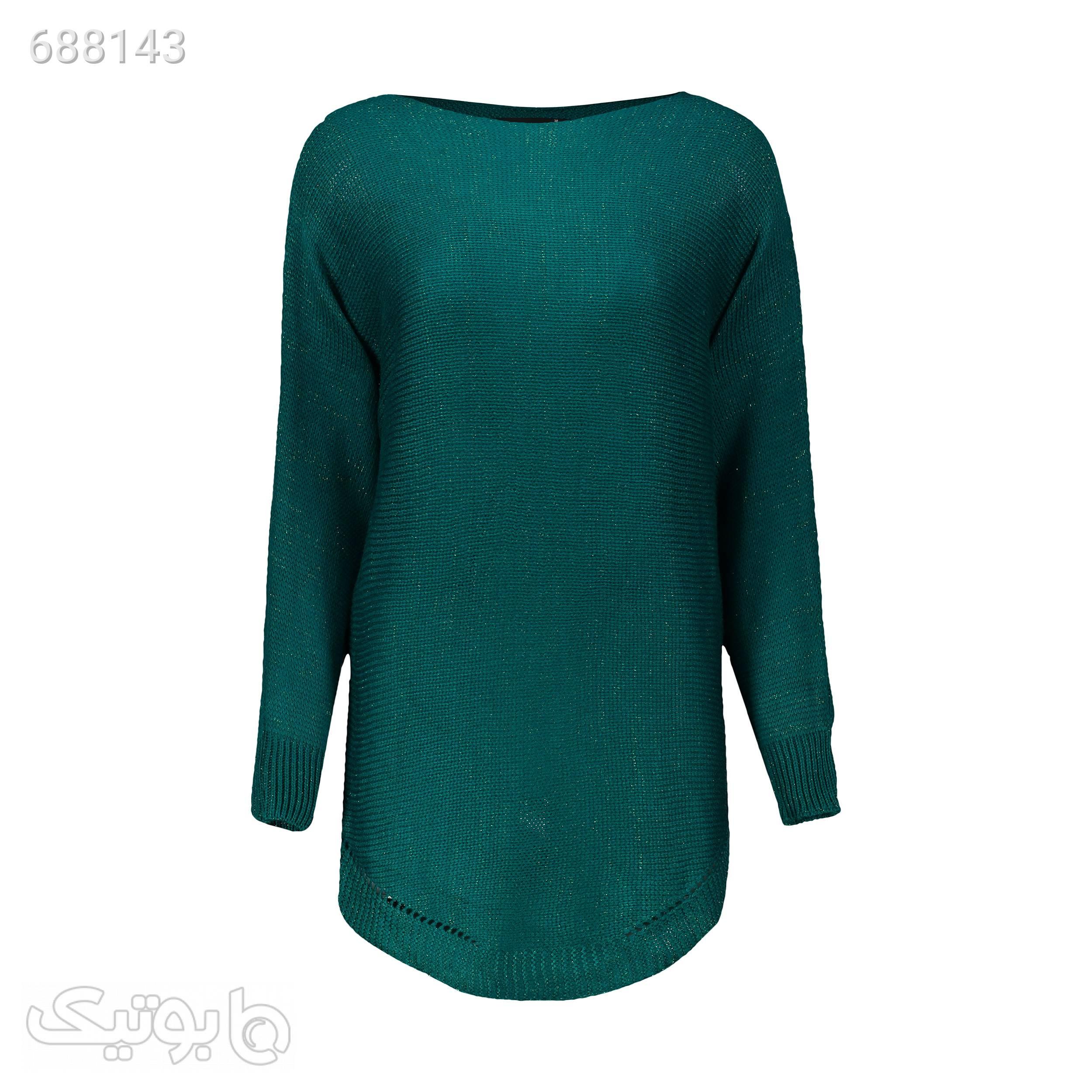 تونیک بافت زنانه وینکلر مدل 6260614019537 سبز رویه و بافت