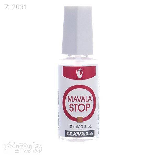 محلول جلوگیری از جویدن ناخن ماوالا مدل ماوالا Stop حجم 10 میلی لیتر سفید زیبایی ناخن ها