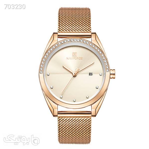 ساعت مچی عقربه ای زنانه نیوی فورس مدل NF5015LRZNO طلایی ساعت