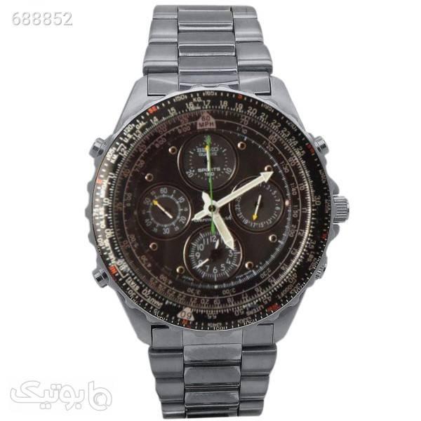 ساعت مچی عقربه ای مردانه سیکو مدل 7T34 نقره ای ساعت