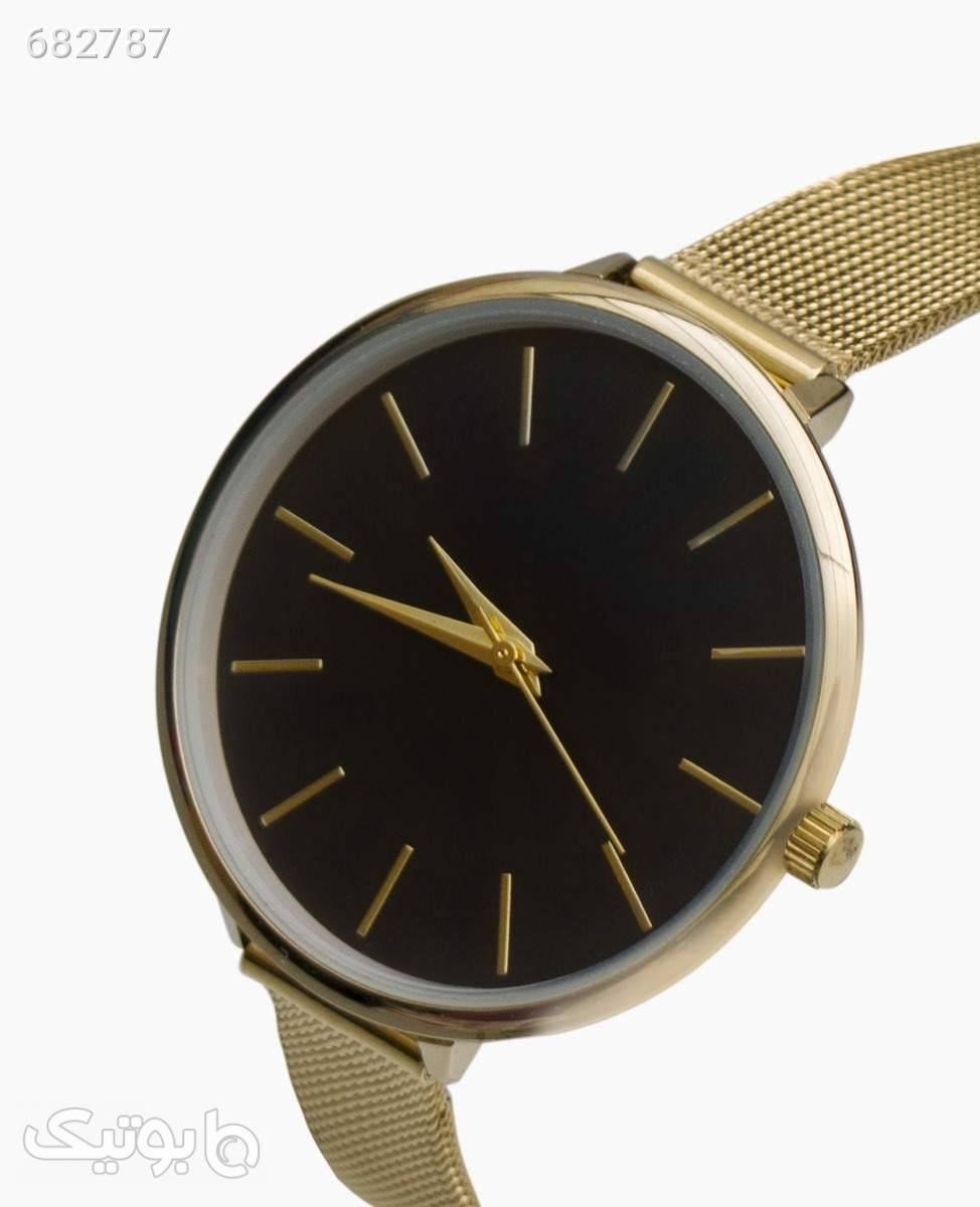 ساعت مچی عقربه ای Hamp;M کد 1344Gold طلایی ساعت